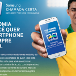 Chamada certa da Samsung