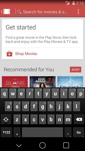 Nova barra de status do Android com a aparência do L