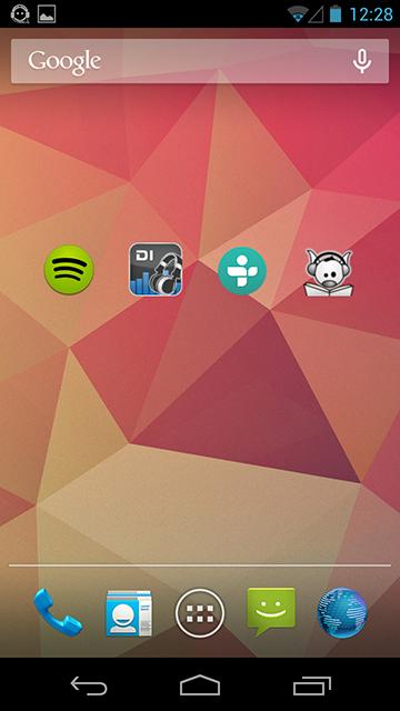 Widgets que o HeadSet Menu possui