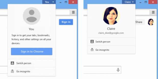 Google Chrome agora  vai ter nova interface de usuário
