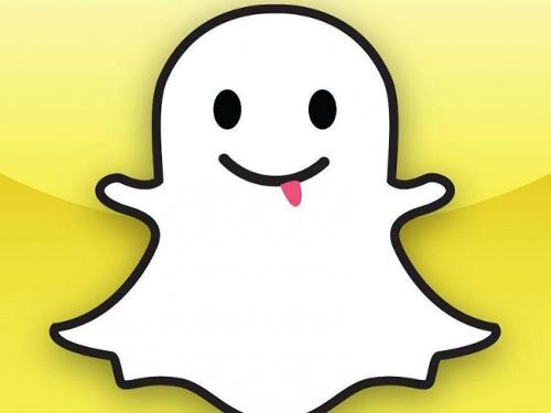 Snapchat sobre com onda de spams