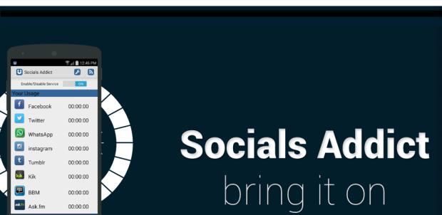 Socials Addict no Android