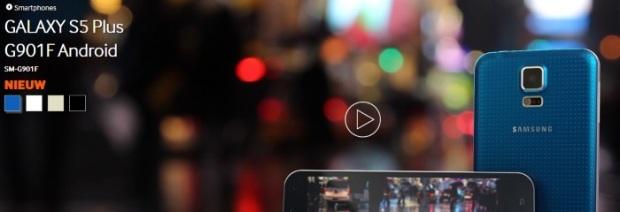 Novo Samsung Galaxy S5 Plus