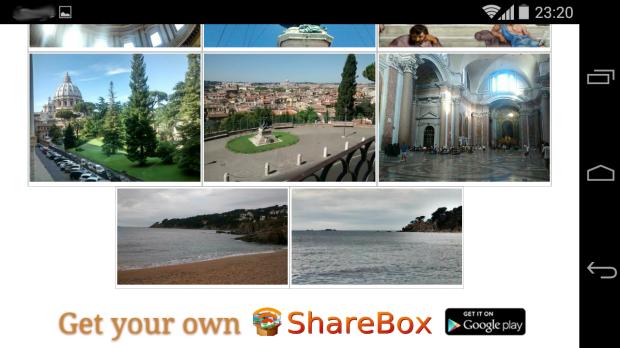 O programa Sharebox permite compartilhar arquivos direto do seu Android