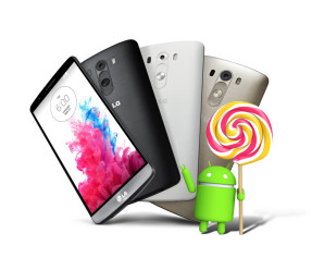 LG G3 recebe o Android Lollipop na Coréia do Norte