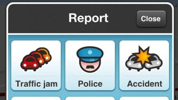 Polícia no Waze