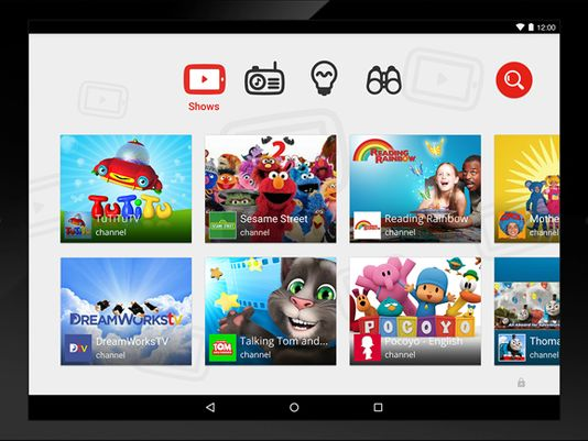 Youtube Kids ( Imagem do USA Today )