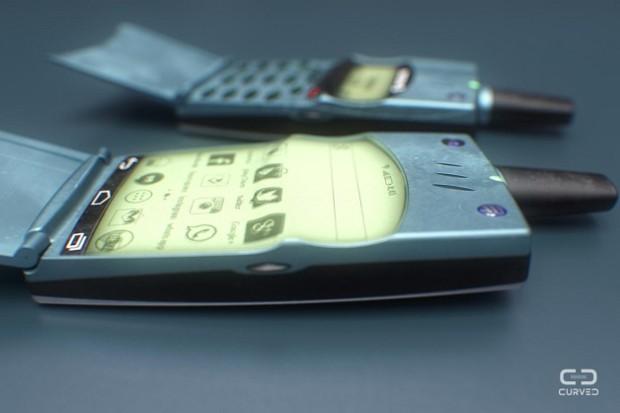 O meu smartphone do passado rodando Android