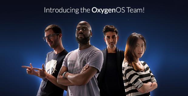 Time de desenvolvimento do OxygenOS - Foto oficial da OnePlus