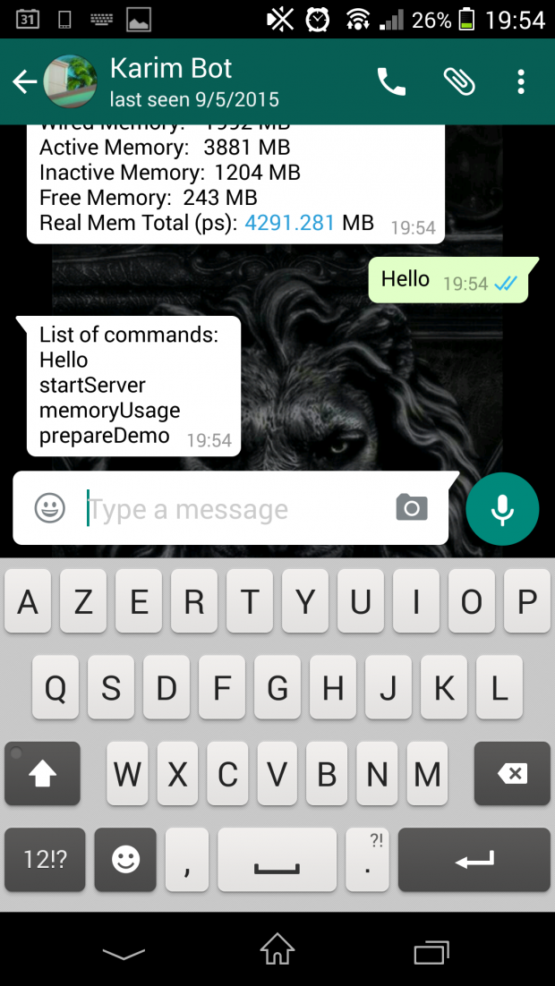 Whatsapp Cli