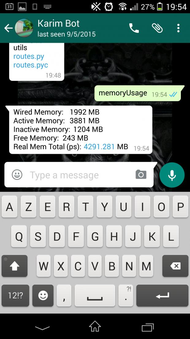 Whatsapp Cli